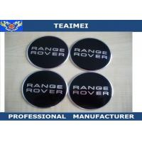 China Luxury Personalised Wheel Center Cap Stickers For Range Rover / BMW / VW wholesale