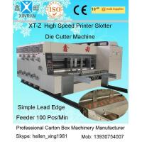 Buy cheap 1450 x2300mm Carton Making Machinery with Max. Feeding Speed 100 Pcs / Min from wholesalers