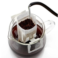 China Nonwoven Sustainable MOPP CPP Drip Coffee Filter Bag on sale