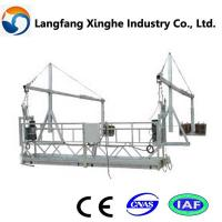 China zlp630 aluminum  steel suspended platform,aerial platform cradle wholesale