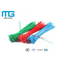 China Wiring Accessories Nylon Cable Ties Heat Resistance 60mm - 1200mm Total Length wholesale