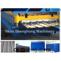 China Sturdy Construction Roof Roll Forming Machinery Automatically 12KW 10.5T wholesale