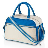 Buy cheap Ladies Custom Duffle Bags with Side Pocket Water Resistant Eco - Friendly from wholesalers