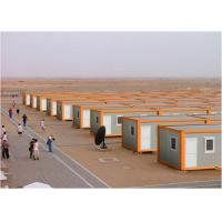 China White And Orange Steel Storage Containers For Larage Scale Competition Area on sale