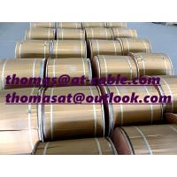 China 4000m wooden drum semi-finished CCS RG6-U Coaxial Cable Without PVC Jacket wholesale