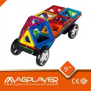 Buy cheap Pré-escolar magnético dos carros do brinquedo de Chilidren do bloco de Magplayer que aprende DIY from wholesalers