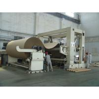 China Rewinding Machine in paper making machine/overfeed or bottom-feed Frame type Rewinding/ Accept customization wholesale