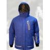 China Reebok Vintage Men's Windbreaker / Track Polyester Jacket Size Large EUC Blue Black wholesale