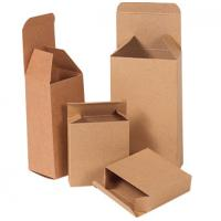 China Custom Brown Double Wall Carton Box , Long Cardboard Boxes For Mailing wholesale