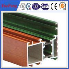China 6063 Aluminum Alloy Extrusions commercial aluminum doors profiles For decoration wholesale