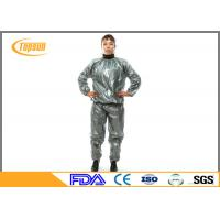 China PE / PVC Disposable Neoprene Sweat Suit For Losing Weight / Working Out wholesale