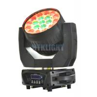 Buy cheap Die - Cast Alluminun And Plastic LED Moving Head Wash Light With 8 - 50 Degree from wholesalers