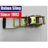 China Zinc palted Ratchet belt Buckle / Ratchet Strap Parts 50mm Width wholesale