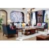 China Latest European American Design Furniture Living Room Sets Leather Sofa Set Designs wholesale