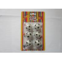 China Disposable Cool Football Shaped Candles Eco Friendly Paraffin Wax Material wholesale