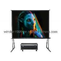 China 200 Front & Rear Fast Fold Projector Screen on sale