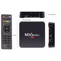 China 4K Android Smart TV Box 1G+8G Amlogic , Quad Core OTT Android Media Box WiFi H.265 wholesale