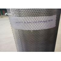 China Small Hole Galvanized Expanded Wire Mesh Screen , Expanded Mesh Sheet on sale