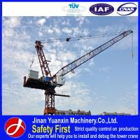 China luffing jib tower crane for construction on sale