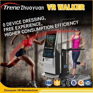 China 800 Watt Shooting Battle Game 9D VR Treadmill Virtual Run VR Walker Simulator wholesale
