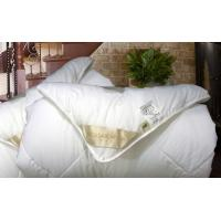 White Spring / Autumn / Winter Down Comforter King With 100% Polyester