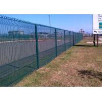 China Hot Dipped Galvanized After Fabricated 358 Security Fence 72.6 * 12.7mm wholesale
