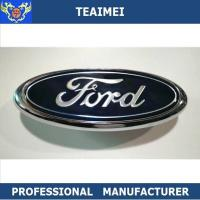 Professional ABS Blue Ford Logo Custom Made Car Emblems With Grill Hood