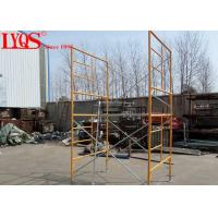 """Buy cheap 5' 7""""×6'4"""" Double Mason Scaffolding Frames High Strength With Powder Coated from wholesalers"""