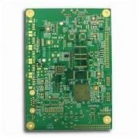 China Green Custom 8 Layers 0.7mm HAL Automobile / Electronics Printed Multilayer Pcb Board wholesale