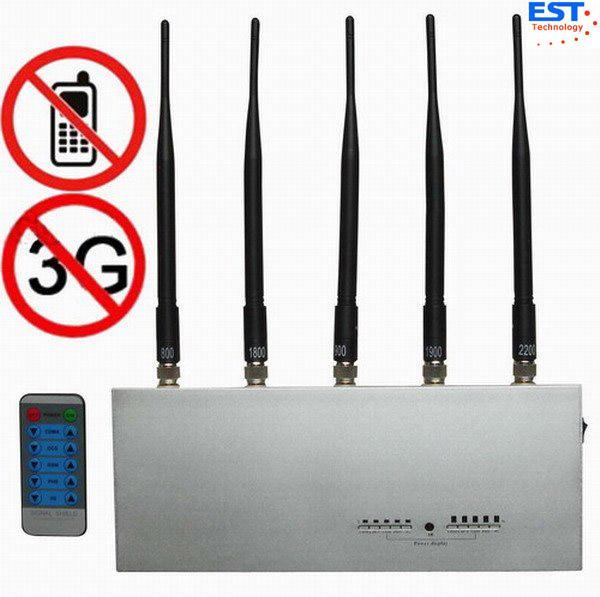Quality Jammer do telefone de CDMA Mobie/construtor de controle remoto EST-505E para o costume for sale