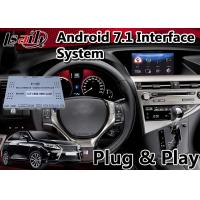 China Android 7.1 Interface Navigation Box for 2012-2015 Lexus RX 450h Mouse Control , Google Play Store on sale