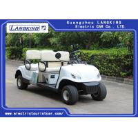 China 4 Wheel 4 Person Electric Club Golf Cart Car 48V Battery Powered Without Roof on sale