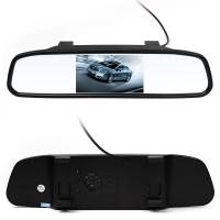 China ABS Material Wireless Reversing Camera , Car Reverse Camera With LCD Monitor wholesale