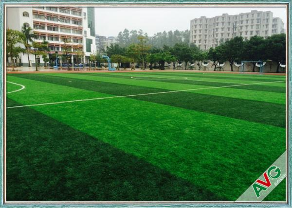 Monofilament PE Football Artificial Turf Anti - UV Soccer Synthetic Grass