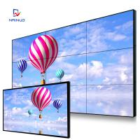 China Business Commercial Video Wall 9 Screen / 1080 Resolution Big Lcd Screen Advertising wholesale