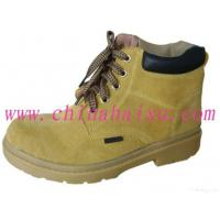 China Yellow Rubber Outsole Steel Toe Safety Shoes wholesale