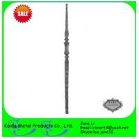 China wrought iron metal iron balusters for iron window grills wholesale