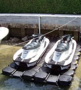 China HDPE floating pontoon, floating platform for boat and jet ski wholesale