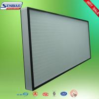 China High Efficiency Hepa Air Filters , Air Conditioner Hepa Filter Air purify wholesale