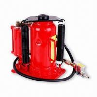 China Air/Hydraulic Bottle Jack with 20 Tons Capacity, Available in Adjustable in Height of 800mm wholesale