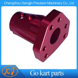 China Angled Steering Hub CNC Billet Aluminum Racing Kart Steering Wheel Hub Boss on sale