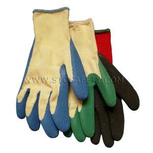 China nature latex coated gloves wholesale