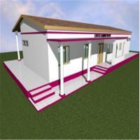 Light Steel House with Sandwich Panel Prefab Kit Home Prefab Steel House