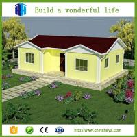 China eps cement sandwich panel house kit prefab house 3 bedrooms for europe on sale