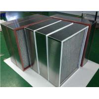 China Washable Small High Temperature Air Filter , High Air Flow Air Filter wholesale
