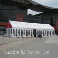 White Red Color Outdoor Party Canopy , Event Tent Rental For Guest Catering