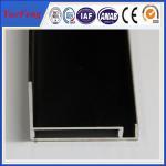 Aluminum extrusion frame for solar panel