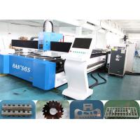 Buy cheap Pipe And Aluminum Sheet Laser Cutting Machine , 1000 W Fiber Laser Cutting Machine from wholesalers
