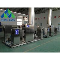 China Intelligent Control Corona Ozone Generator Skid / Plug And Play Easy Installation on sale