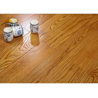 China Archaize Red Oak Solid Wood Flooring For Living Room Emboss Pattern wholesale